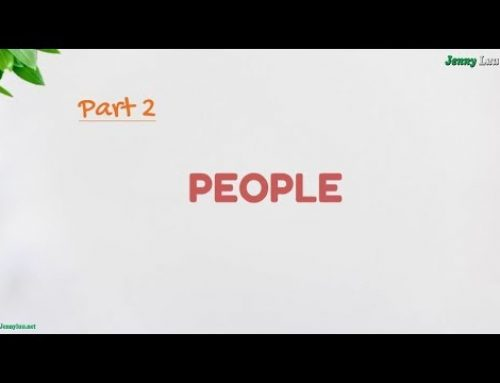IELTS Speaking Part2 – Aswer's structures:  PEOPLE